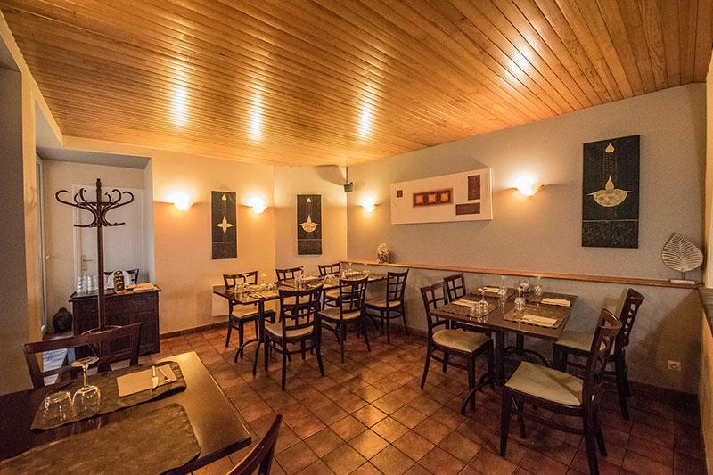 Restaurant-Pizzeria Le Patio à Landivisiau, Salle de restaurant